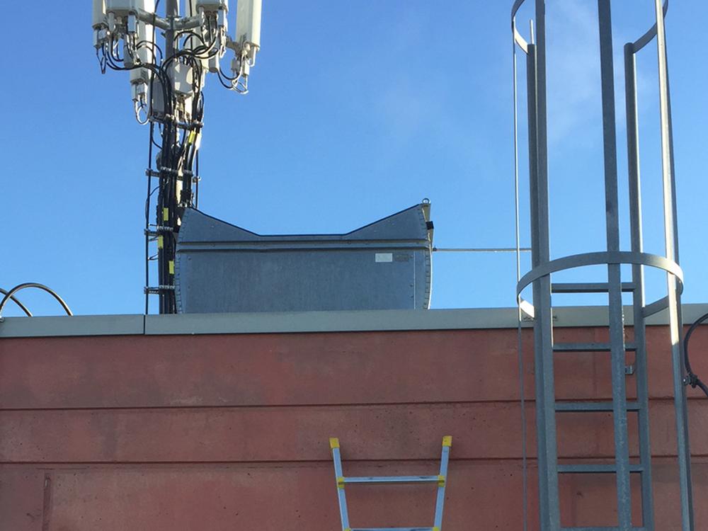 Einbau Funksystem im bei großem Industrie Kunden