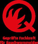 Geprüfte Fachkraft für Rauchmelder, Logo, Zertifizierung