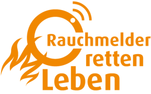 Rauchmelder retten Leben, Logo; Zertifizierung
